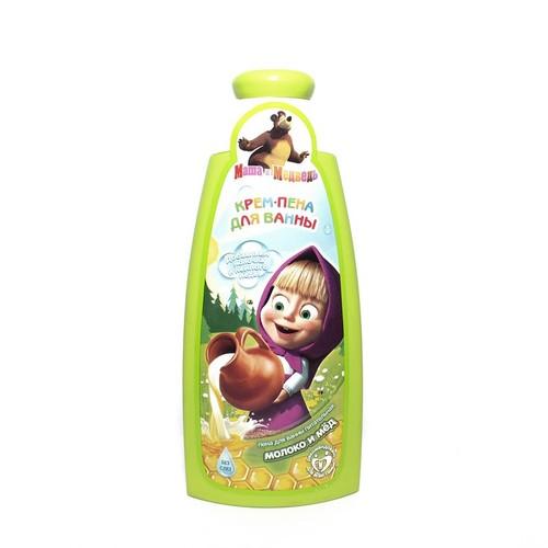 МАША И МЕДВЕДЬ Крем-пена д/ванн Молоко и мёд,240мл купить в Ирпене