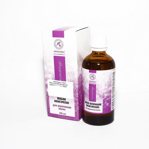 МАСЛО Косметическое для укрепления волос 100мл - фото 1 | Сеть аптек Viridis