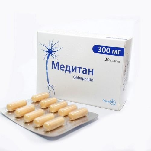 МЕДИТАН КАПС. 300МГ №30 купить в Броварах