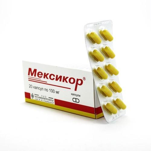 МЕКСИКОР КАПС. 100МГ №20 купити в Киеве