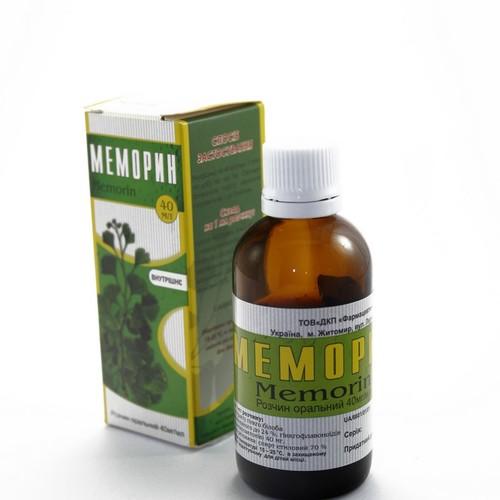 МЕМОРИН Р-Р 40МГ/МЛ 40МЛ купить в Ирпене