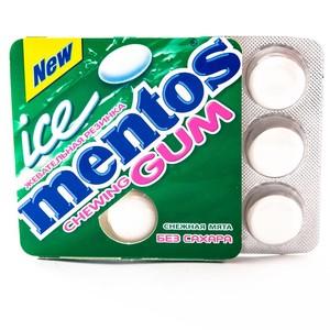 МЕНТОС ICE жув.гум. Білосніж.мята 12,9г(12*36)