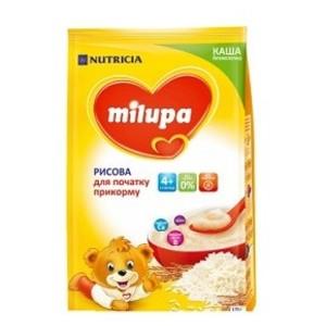 МІЛУПА Каша безмолочна рисова від 4 міс. 170г