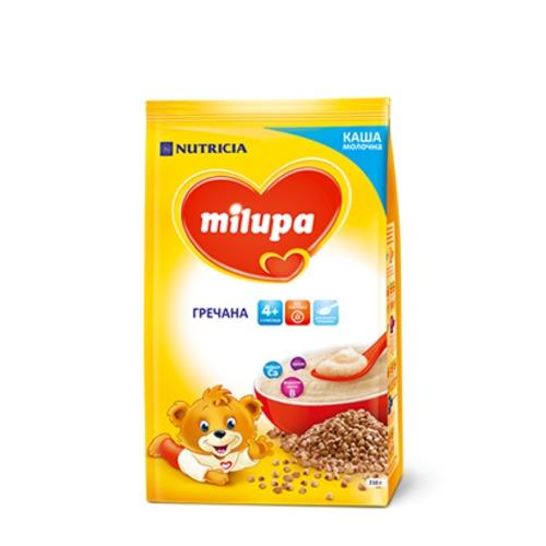 МІЛУПА Каша молочна гречана від 4 міс. 210г купити в Житомире