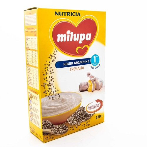 МИЛУПА Каша молочная гречневая с 6 мес. 230г купить в Киеве