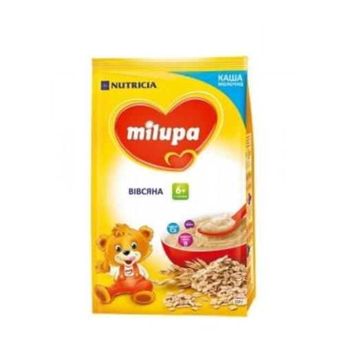 МИЛУПА Каша молочная овсяная с 6 мес. 210г