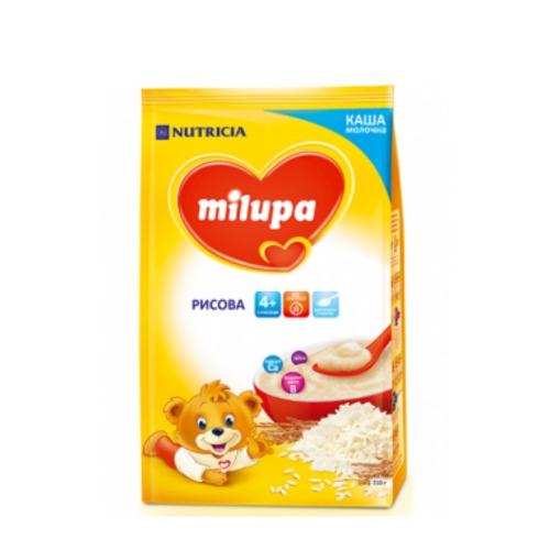 МИЛУПА Каша молочная рисовая с 4 мес. 210г купить в Житомире