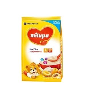 МИЛУПА Каша молочная рисовая с абрикосом с 5 мес. 210г