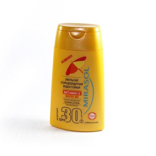 MIRASOL Эмульсия солнцезащитная водостойкая SPF30 150мл купити в Житомире
