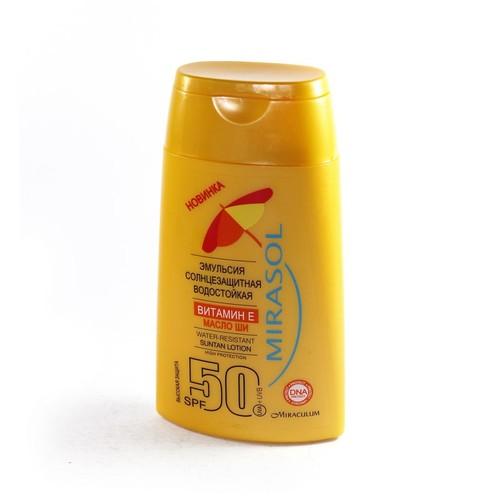 MIRASOL Эмульсия солнцезащитная водостойкая SPF50 150мл купить в Житомире