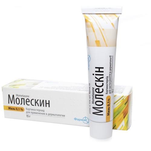 МОЛЕСКИН МАЗЬ 0,1% 15Г купить в Киеве