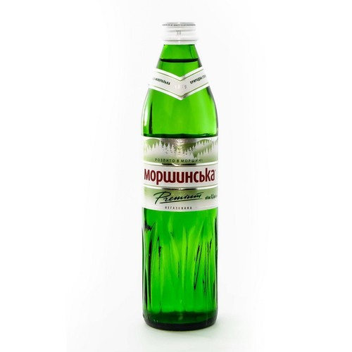 МОРШИНСЬКА мін.вода 0,5Л (СКЛО) н/газ. купити в Житомире