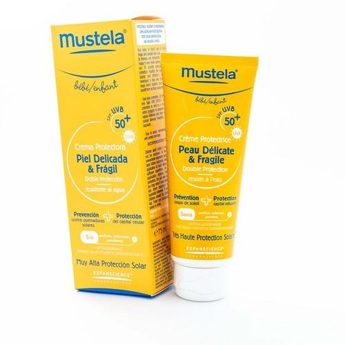 Mustela Крем сонцезахисний з SPF 50+ 75млSunscreen  SPF 50+ купити в Ирпене