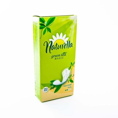 НАТУРЕЛЛА Ежедн. гиг.прокл. Green Tea Magic Normal(с аром.зелен.чая)  20шт