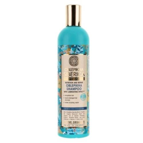 НАТУРА СИБЕРИКА OSP Шампунь для волос Облепиховый д/поврежденных волос, 400мл - фото 1 | Сеть аптек Viridis