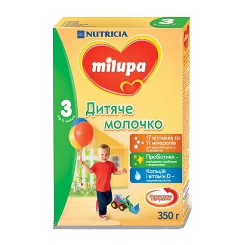 МИЛУПА 3  Молоко дет. от 12мес. 350г - фото 1   Сеть аптек Viridis
