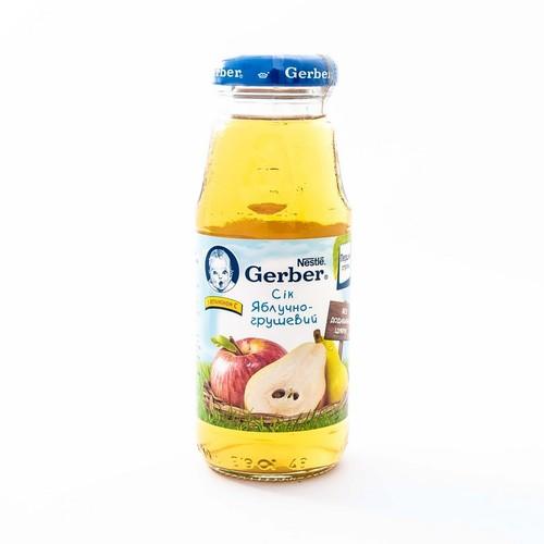 НЕСТЛЕ WTC Гербер сок яблоко, груша 175г new купить в Киеве