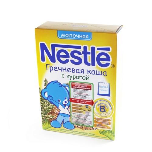 НЕСТЛЕ WTC Каша молочна гречана з курагою 250г купити в Киеве