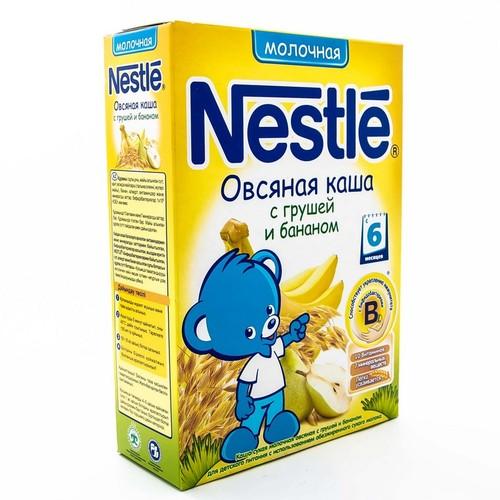 НЕСТЛЕ WTC Каша молочна вівсяна з грушею і бананами 250г купити в Славутиче