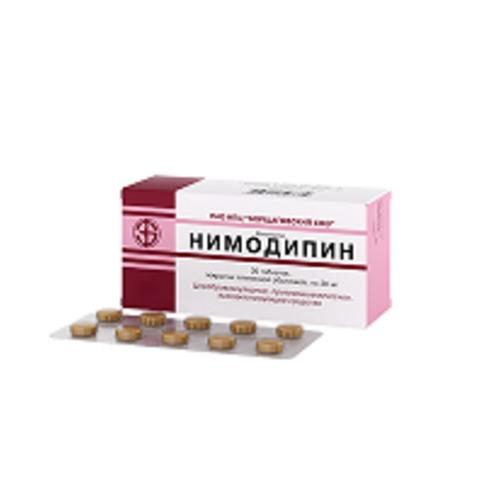 НИМОДИПИН ТАБ. 0,03 №30