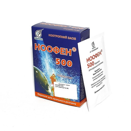 НООФЕН 500 ПОР. 500МГ/ДОЗА ПАК. №5