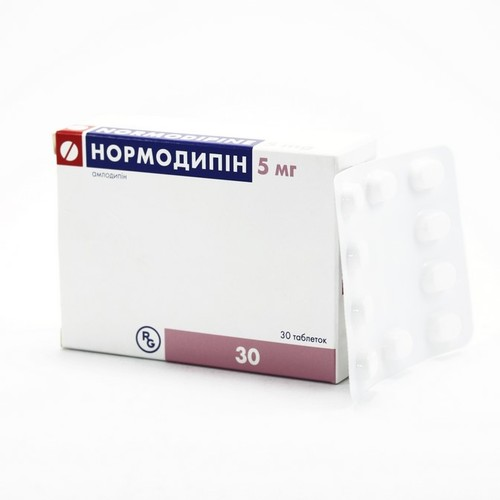 НОРМОДИПІН ТАБ. 5МГ №30 купити в Харкові
