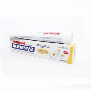 НОВЫЙ ЖЕМЧУГ зубная паста Ромашка 50мл