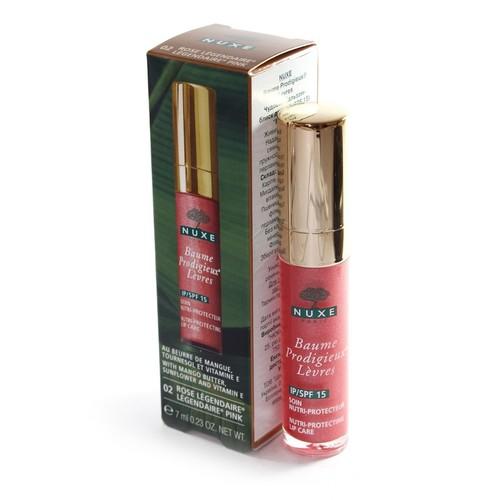 NUXE Чудовий бальзам-блиск для губ живильний і захисний  відтінок