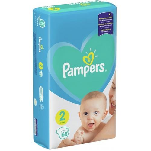 ПАМПЕРС Дет. подгуз. New Baby Mini (4-8кг) Эконом №68 - фото 1 | Сеть аптек Viridis