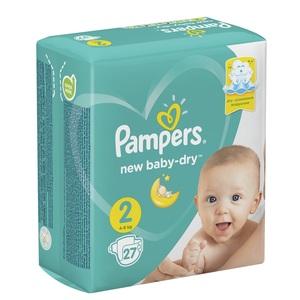 ПАМПЕРС Дет. подгуз. New Baby Mini (4-8кг) Стандарт №22