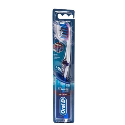 ОРАЛ БИ Зуб. щетка 3D White Lux Pro-Flex 38 Средняя 1 шт. купить в Харькове