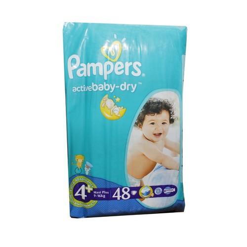 ПАМПЕРС Дет. подгуз. Act. baby Maxi Plus (9-16кг) Эконом №48 купити в Житомире