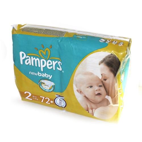 ПАМПЕРС Дет. подгуз. New Baby Mini (3-6кг) Эконом №72 купить в Броварах