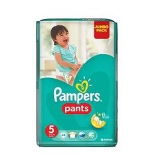 ПАМПЕРС Дет. подгуз.-трусики Pants Junior (12-17кг) Джамбо №48