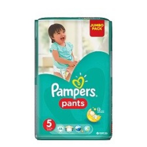 ПАМПЕРС Дет. подгуз.-трусики Pants Junior (12-18кг) Джамбо №48 купить в Броварах