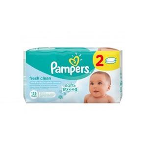 ПАМПЕРС Дит. серветки Baby Fresh змін. блок 128шт