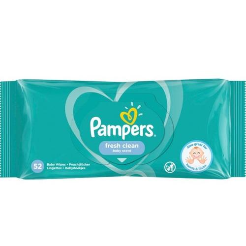 ПАМПЕРС Дет. салфетки Fresh Clean смен. блок №52 - фото 1 | Сеть аптек Viridis
