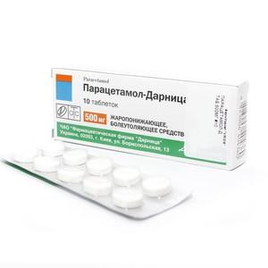 ПАРАЦЕТАМОЛ-Д ТАБ. 500МГ №10