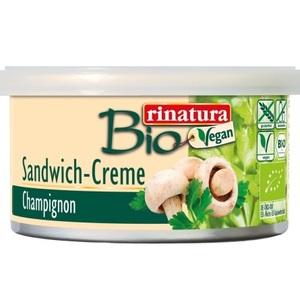 РИНАТУРА Паштет з шампіньонів 125 гр органічний Rinatura Німеччина CHAMPIGNON SANDWICH CREME