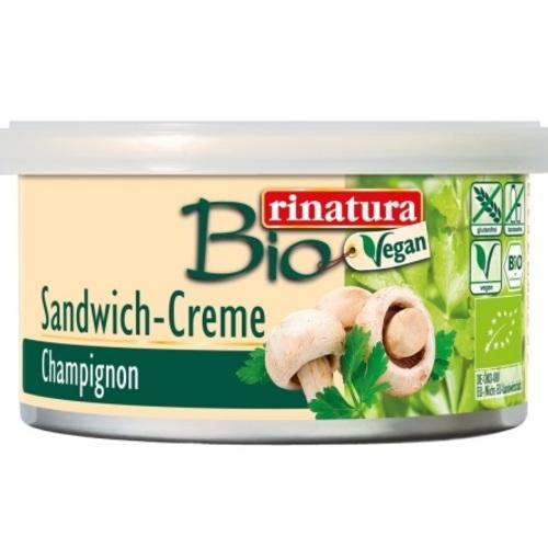 РИНАТУРА Паштет з шампіньонів 125 гр органічний Rinatura Німеччина CHAMPIGNON SANDWICH CREME - фото 1 | Сеть аптек Viridis