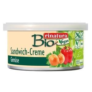 РИНАТУРА Паштет овочевий 125 гр органічний Rinatura Німеччина VEGETABLE SANDWICH CREME
