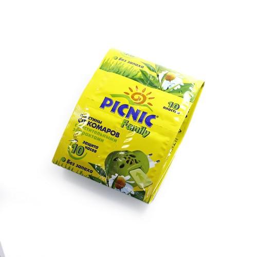 ПІКНІК ФЕМІЛІ Пластини від комарів №10 купити в Броварах