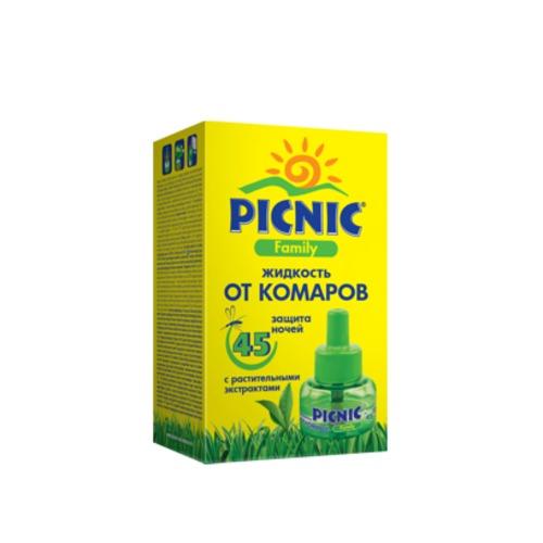 ПИКНИК ФЕМИЛИ Р-р от комаров 30мл (45 ночей) купить в Броварах