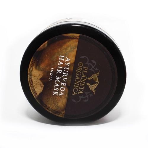 ПЛАНЕТА ОРГАНИКА Маска для волос густая Золотая Аюрведическая, 300мл