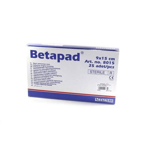 Пластырь Betapad  на н/ткан. ос. 9см х 15см №25