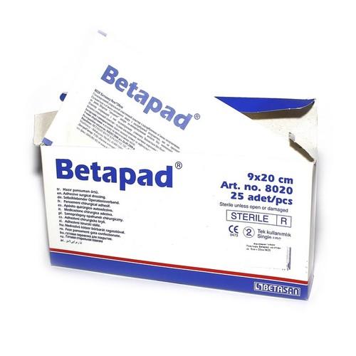 Пластырь Betapad  на н/ткан. ос. 9см х 20см №25 купить в Харькове