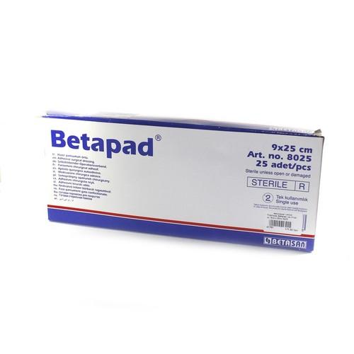 Пластырь Betapad  на н/ткан. ос. 9см х 25см №25 купить в Броварах