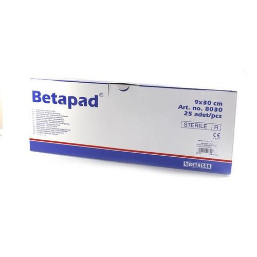 Пластырь Betapad  на н/ткан. ос. 9см х 30см №25