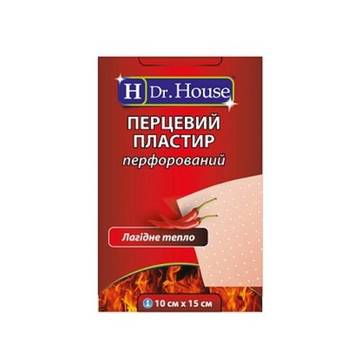 ПЛАСТЫРЬ ДОКТОР ХАУС перцовый 10см х 15см купить в Харькове