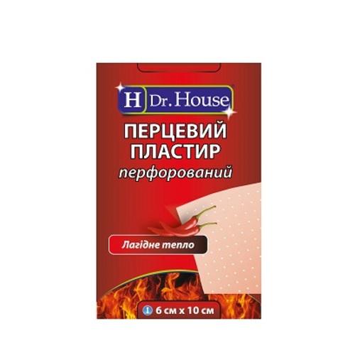 ПЛАСТЫРЬ ДОКТОР ХАУС перцовый 6см х 10см